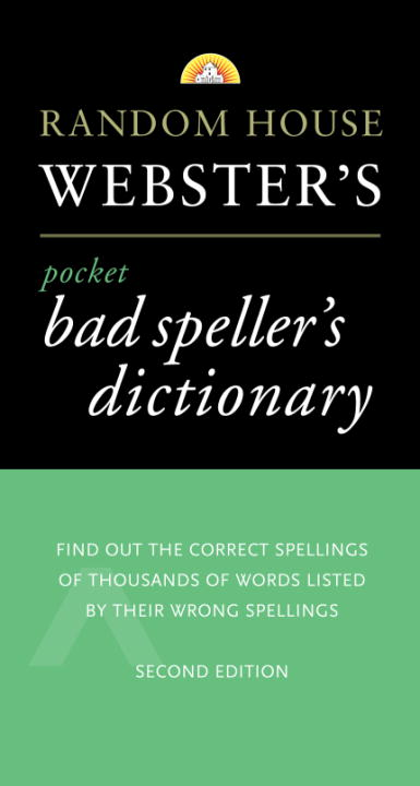 Random House Webster's Pocket Bad Speller's Dictionary By Krevisky, Joseph/ Linfield, Jordan L.